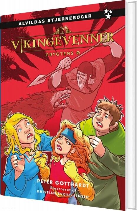 Vikingevenner 7: Frygtens ø 7 - Peter Gotthardt - Bog