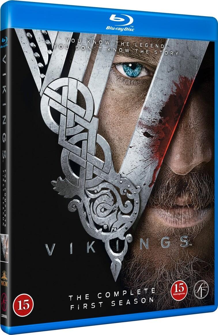 Vikings - Sæson 1 - Blu-Ray - Tv-serie