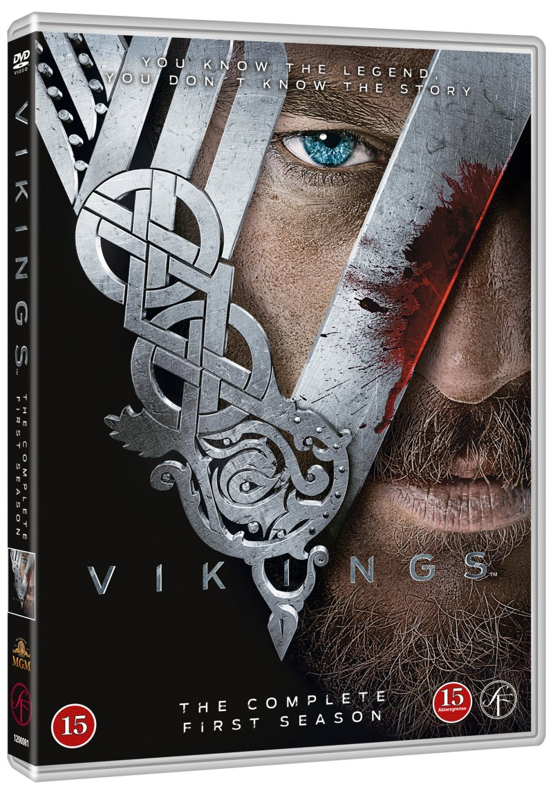 cd3d8cf2112a Vikings - Sæson 1 DVD → Køb TV Serien her