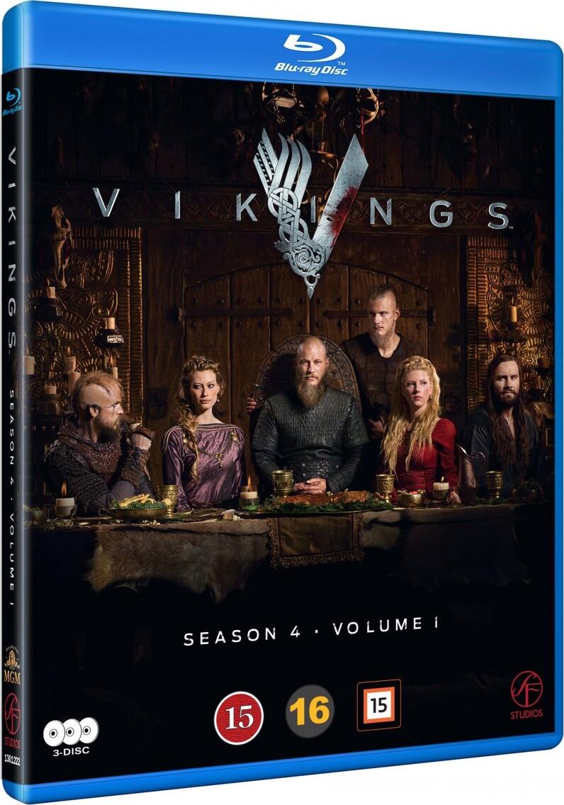 Vikings - Sæson 4 Vol. 1 - Blu-Ray - Tv-serie