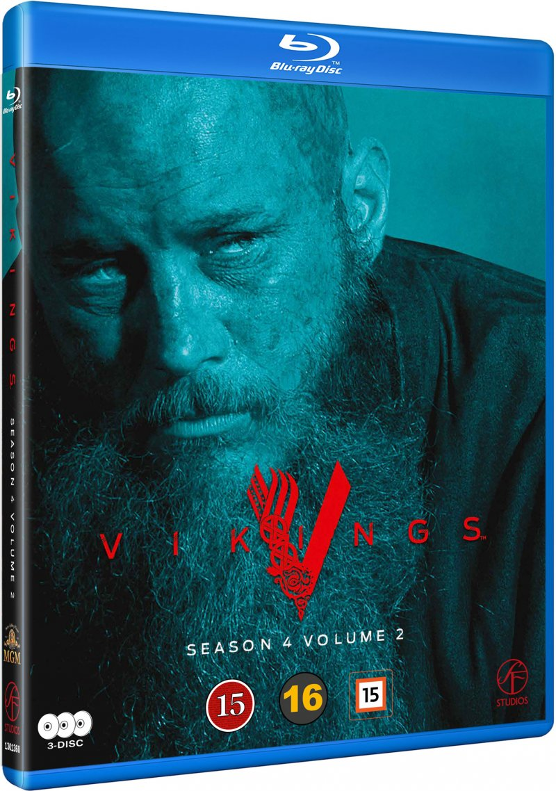 Vikings - Sæson 4 Vol. 2 - Blu-Ray - Tv-serie