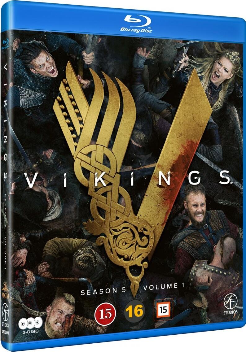 Vikings - Sæson 5 Vol. 1 - Blu-Ray - Tv-serie