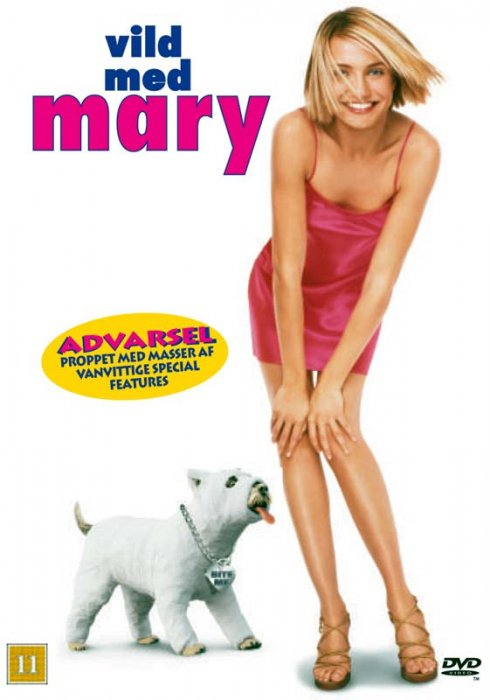 Image of   Vild Med Mary / Theres Something About Mary - DVD - Film