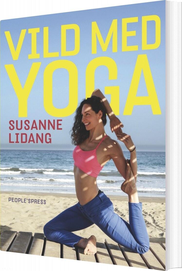 Image of   Vild Med Yoga - Susanne Lidang - Bog