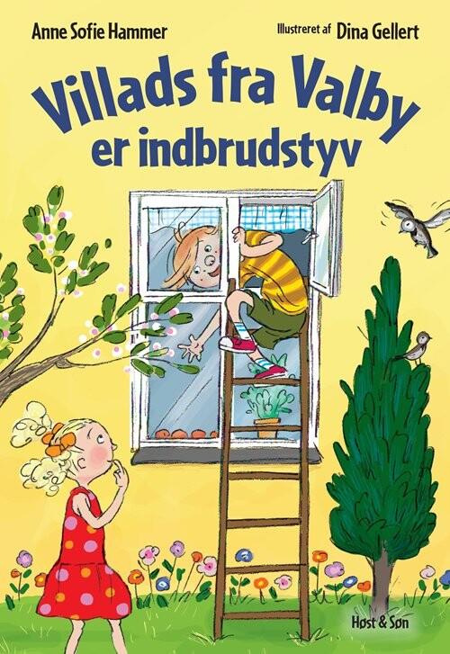 Villads Fra Valby Er Indbrudstyv - Anne Sofie Hammer - Bog