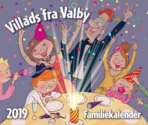 Image of   Villads Fra Valby Familiekalender 2019