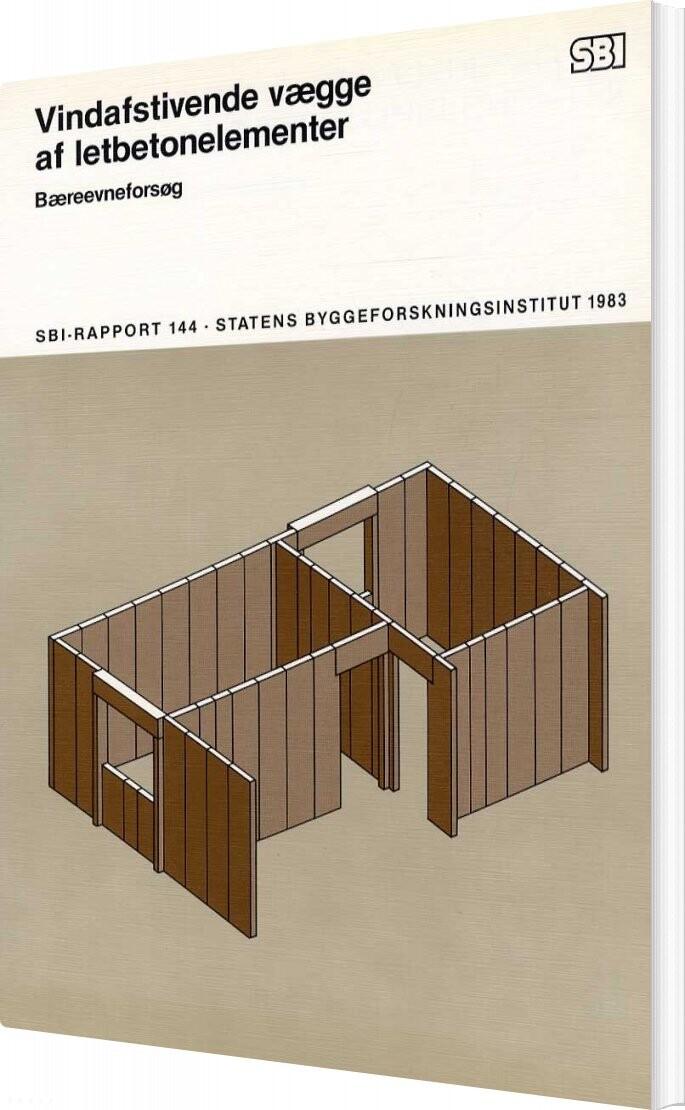 Image of   Vindafstivende Vægge Af Letbetonelementer - Mogens Buhelt - Bog