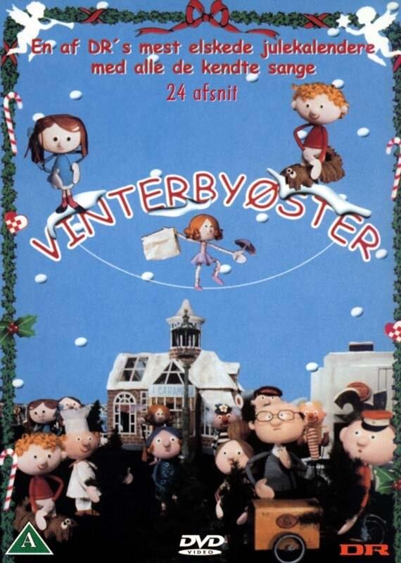 Vinterbyøster - Dr Julekalender - DVD - Tv-serie