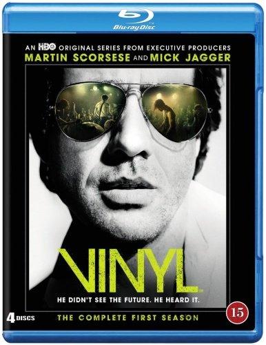 Vinyl - Sæson 1 - Hbo - Blu-Ray - Tv-serie