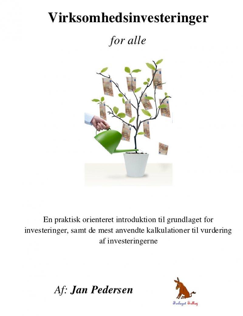 Virksomhedsinvesteringer - For Alle - Jan Pedersen - Bog