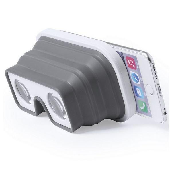 Image of   Virtual Reality Vr Briller Til Smartphone - Foldbare - Hvid