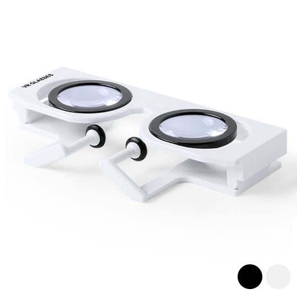 Image of   Virtual Reality Vr Briller Til Smartphone - Hvid
