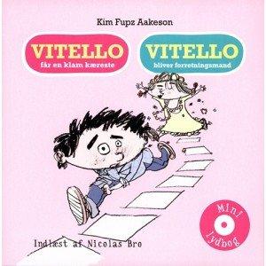 Image of   Vitello Får En Klam Kæreste & Vitello Bliver Forretningsmand - Kim Fupz Aakeson - Cd Lydbog
