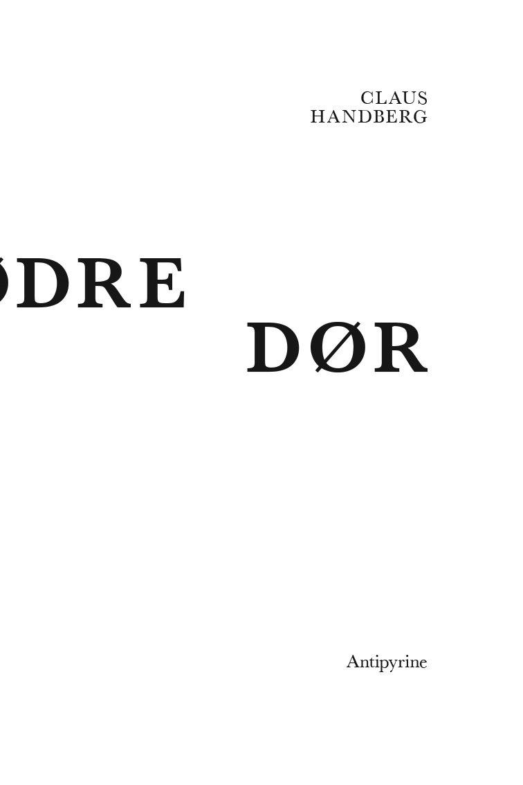 Vore Mødre Dør - Claus Handberg - Bog