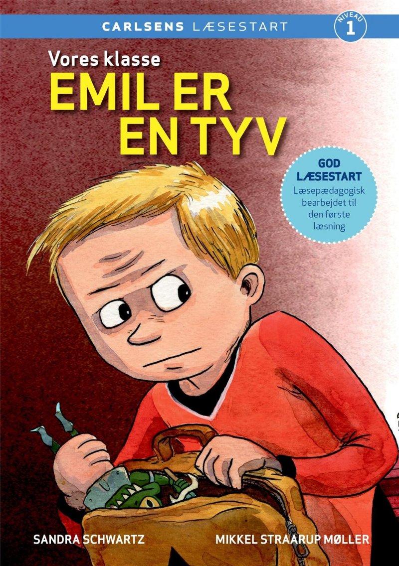 Vores Klasse: Emil Er En Tyv - Sandra Schwartz - Bog
