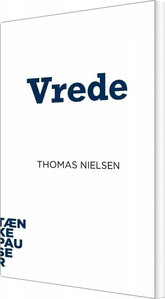 Image of   Vrede - Thomas Nielsen - Bog