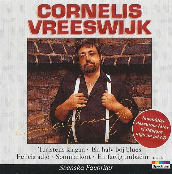Image of   Cornelis Vreeswijk - Svenske Favoritter - CD