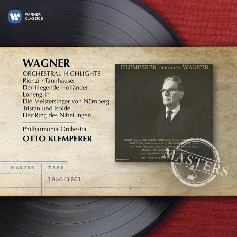 Image of   Otto Klemperer - Wagner - Orchestral Highlights - CD