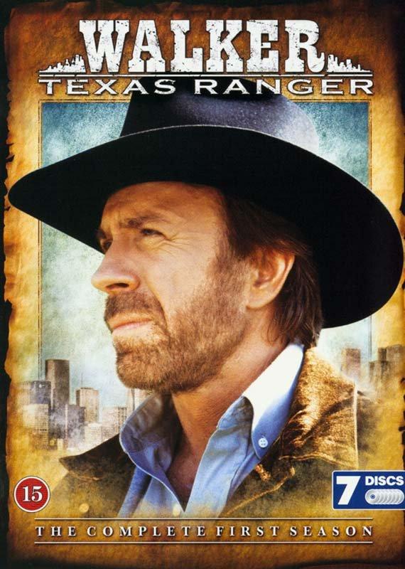 Billede af Walker - Texas Ranger - Sæson 1 - DVD - Tv-serie