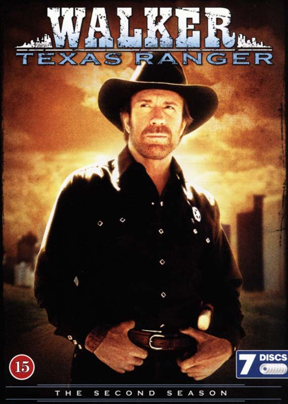 Walker: Texas Ranger - Sæson 2 - DVD - Tv-serie