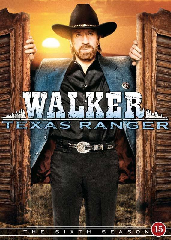 Billede af Walker Texas Ranger - Sæson 6 - DVD - Tv-serie