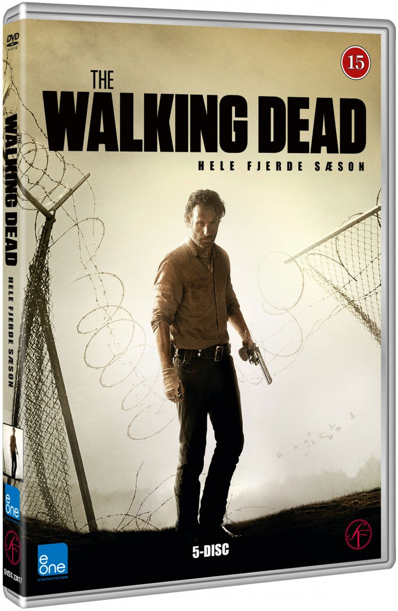 Image of   The Walking Dead - Sæson 4 - DVD - Tv-serie