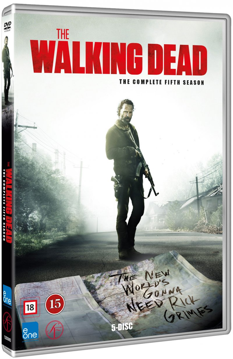 Image of   The Walking Dead - Sæson 5 - DVD - Tv-serie
