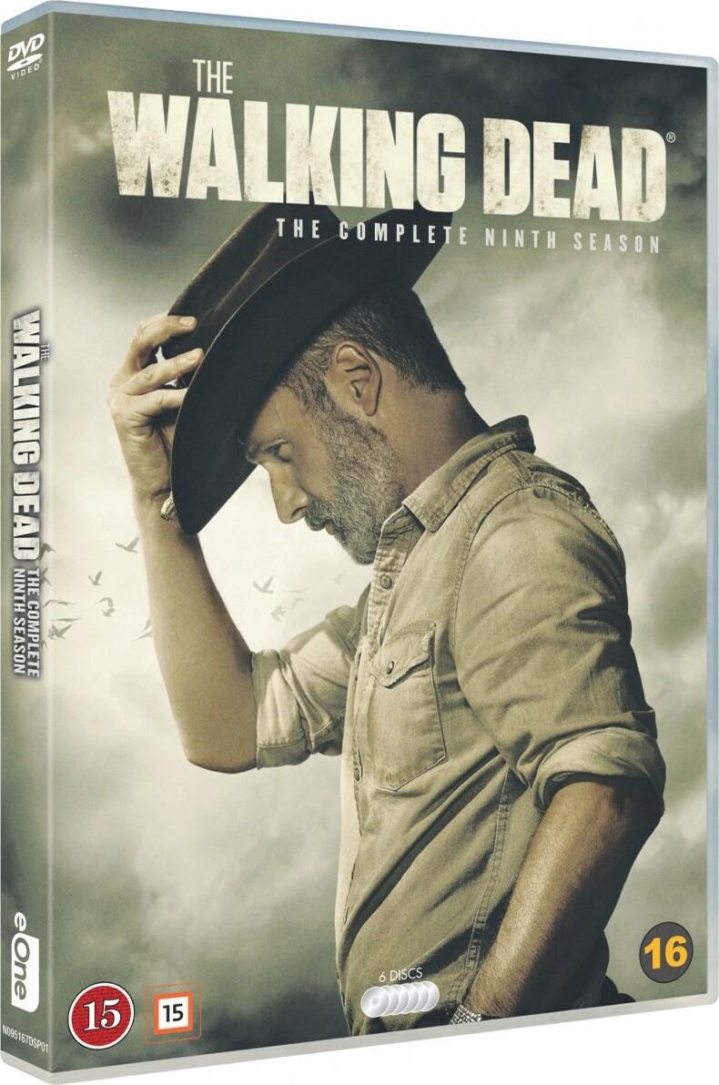 Ubrugte The Walking Dead - Sæson 9 DVD → Køb TV Serien her WK-87