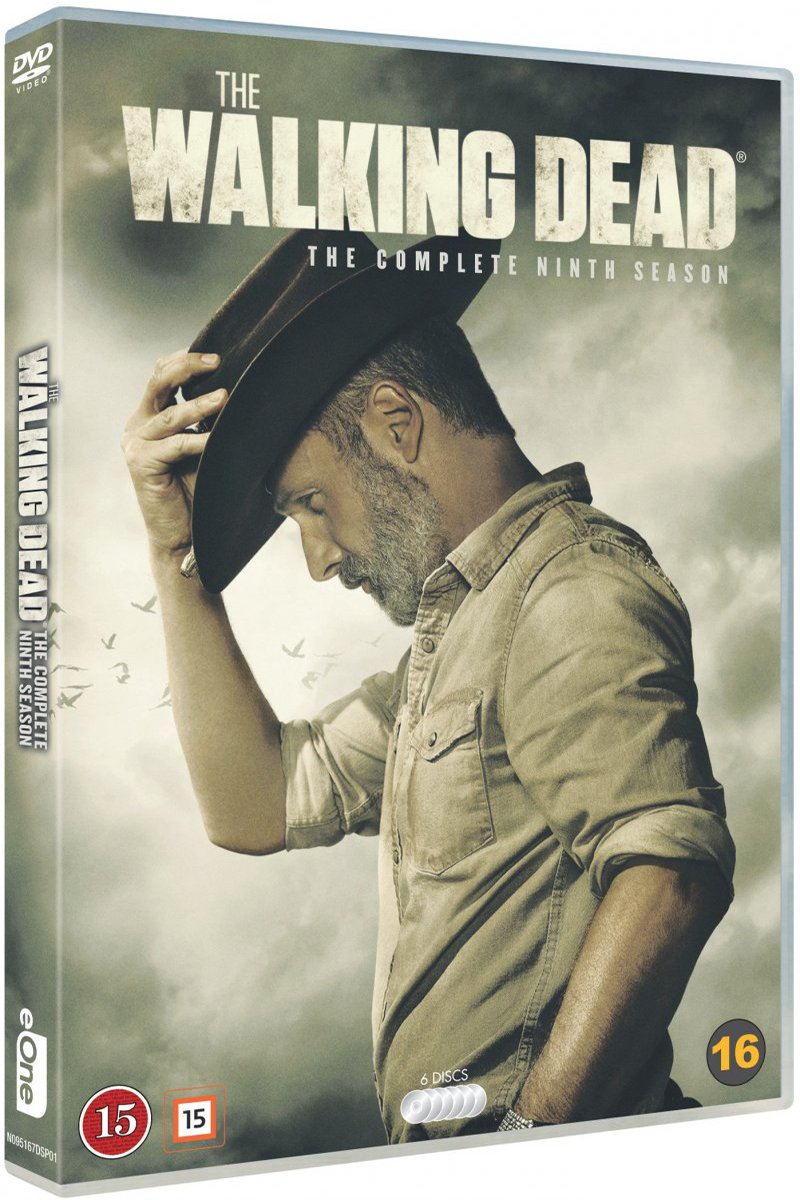 Image of   The Walking Dead - Sæson 9 - DVD - Tv-serie