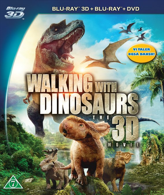 Image of   Walking With Dinosaurs - 3D Blu-Ray