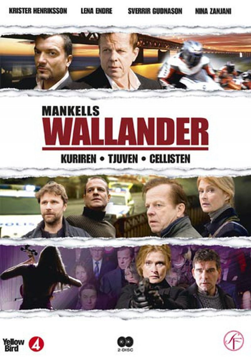 Image of   Wallander - Vol. 6 - DVD - Tv-serie