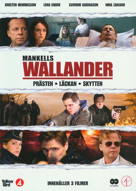 Image of   Wallander - Vol. 7 - DVD - Tv-serie