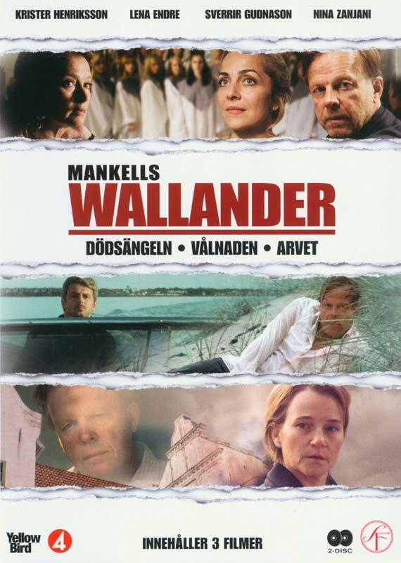 Image of   Wallander - Vol. 8 - DVD - Tv-serie