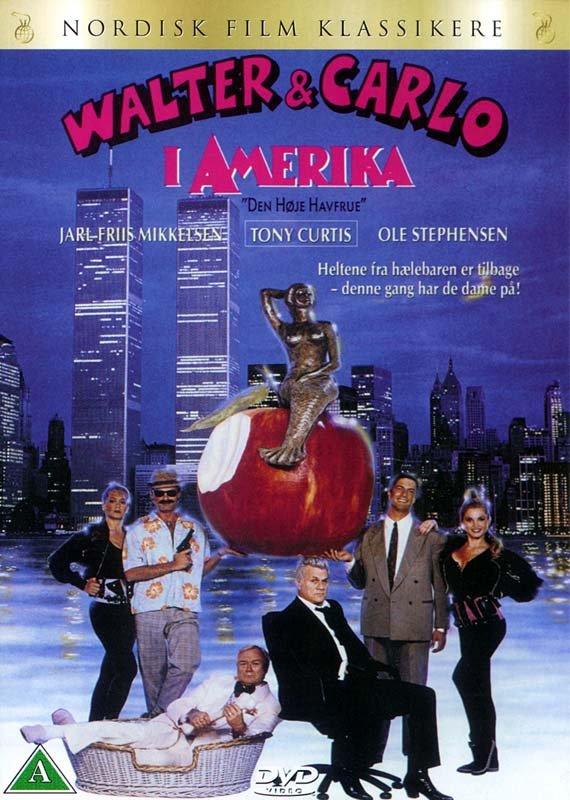Billede af Walter Og Carlo I Amerika - DVD - Film