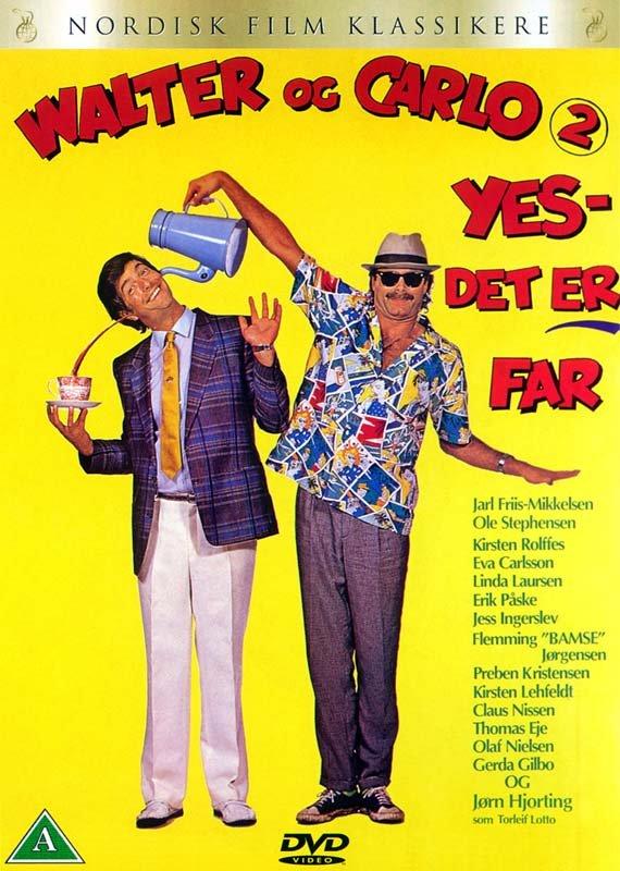Billede af Walter Og Carlo - Yes Det Er Far - DVD - Film