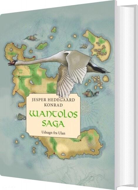 Image of   Wantolos Saga - Jesper Hedegaard Konrad - Bog