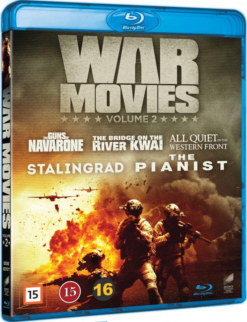 Image of   War Movies Box - Vol. 2 - Blu-Ray