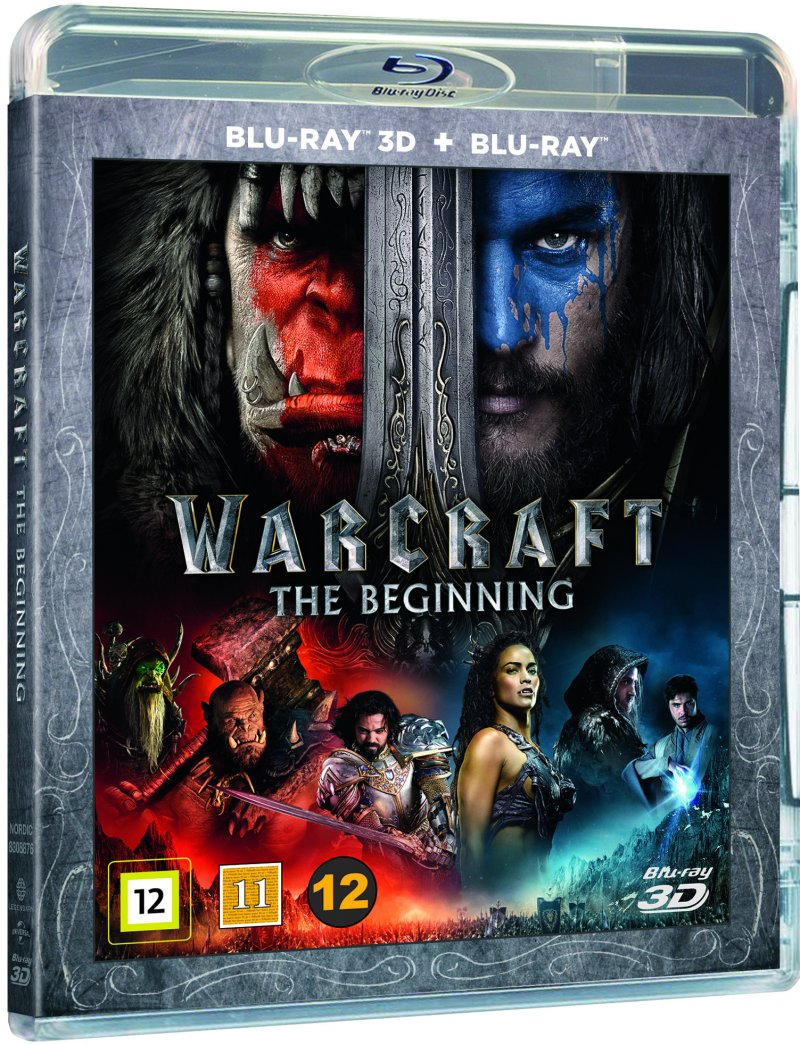 Image of   Warcraft: The Beginning (3d+2d Blu-ray) -