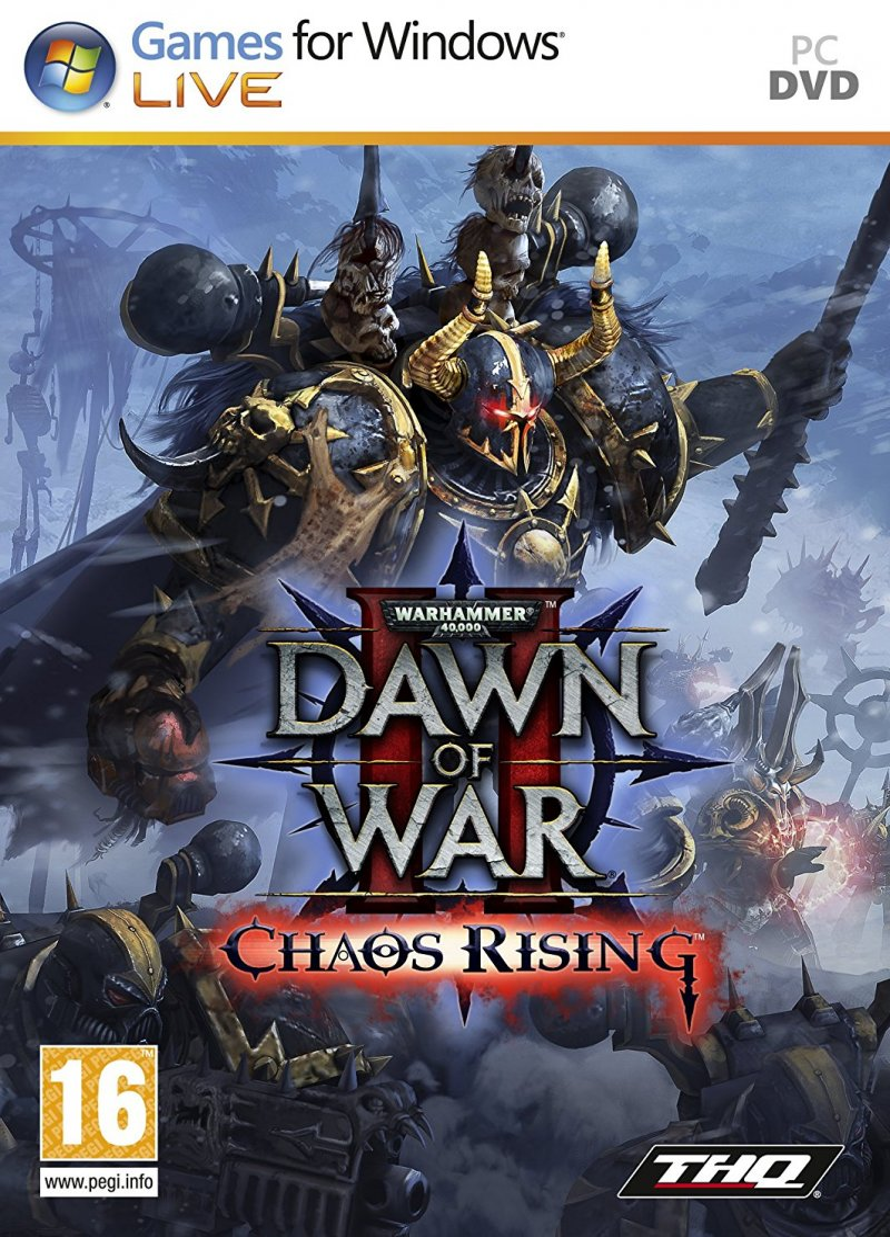 Image of   Warhammer 40,000: Dawn Of War 2 - Chaos Rising - Dk - PC
