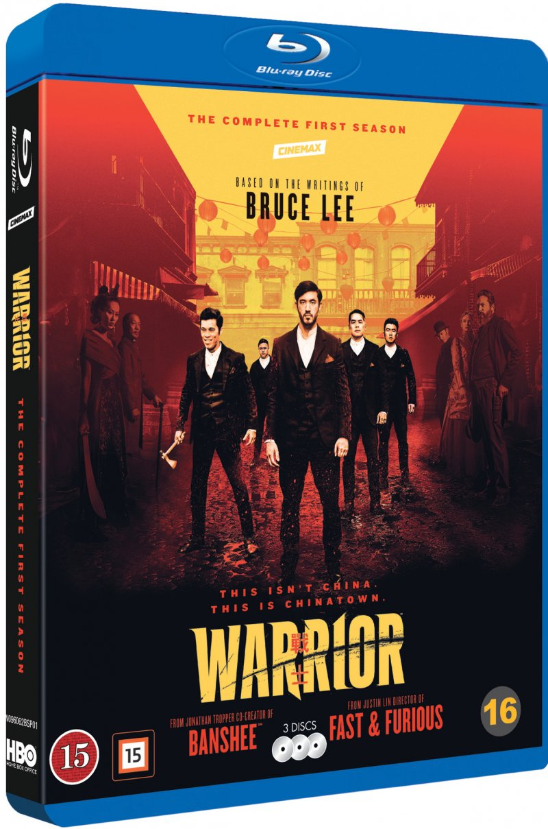 Image of   Warrior - Sæson 1 - Hbo - Blu-Ray - Tv-serie