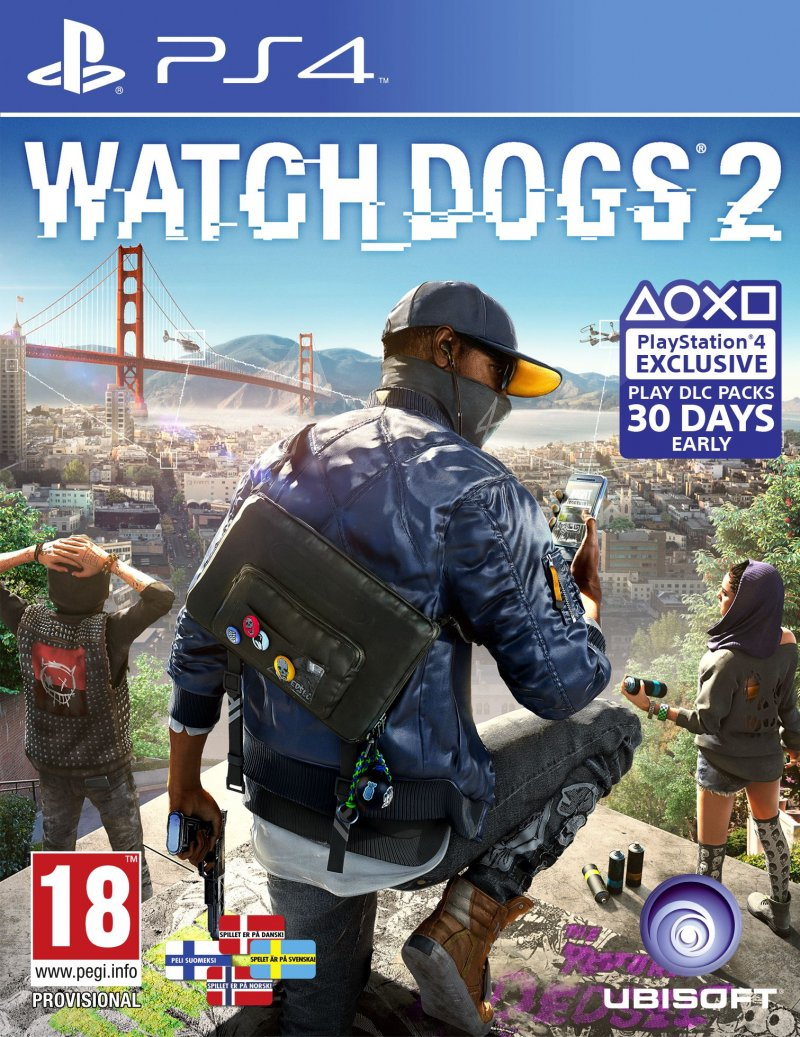 Image of   Watch Dogs 2 (nordic) - PS4