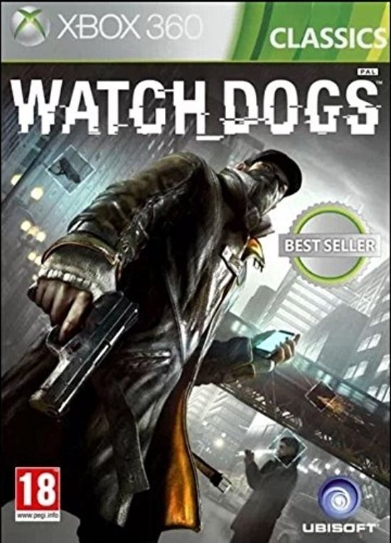 Image of   Watch Dogs - Dk - Xbox 360