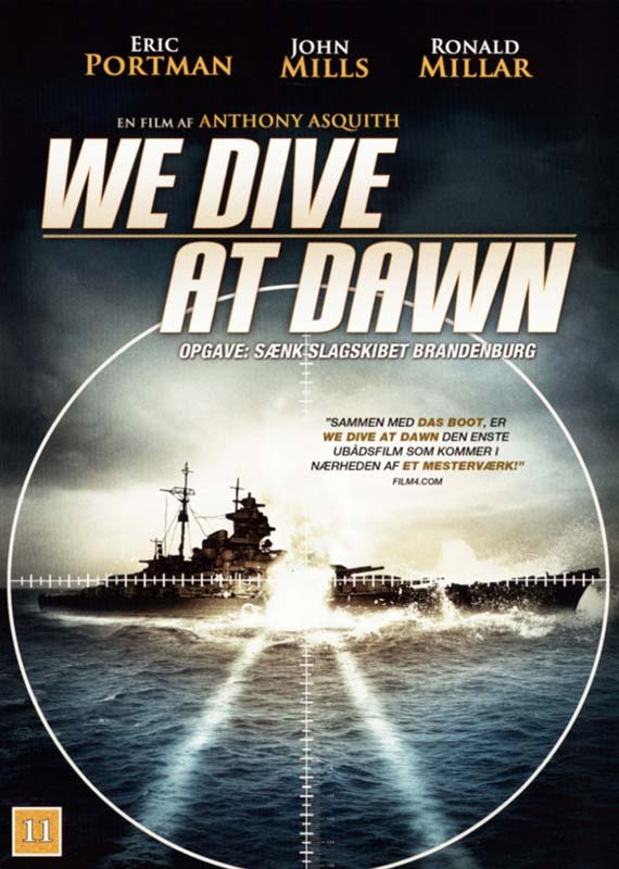 Image of   We Dive At Dawn - DVD - Film