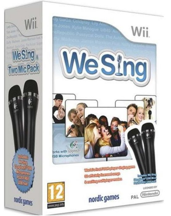 We Sing + 2-mic Bundle - Wii