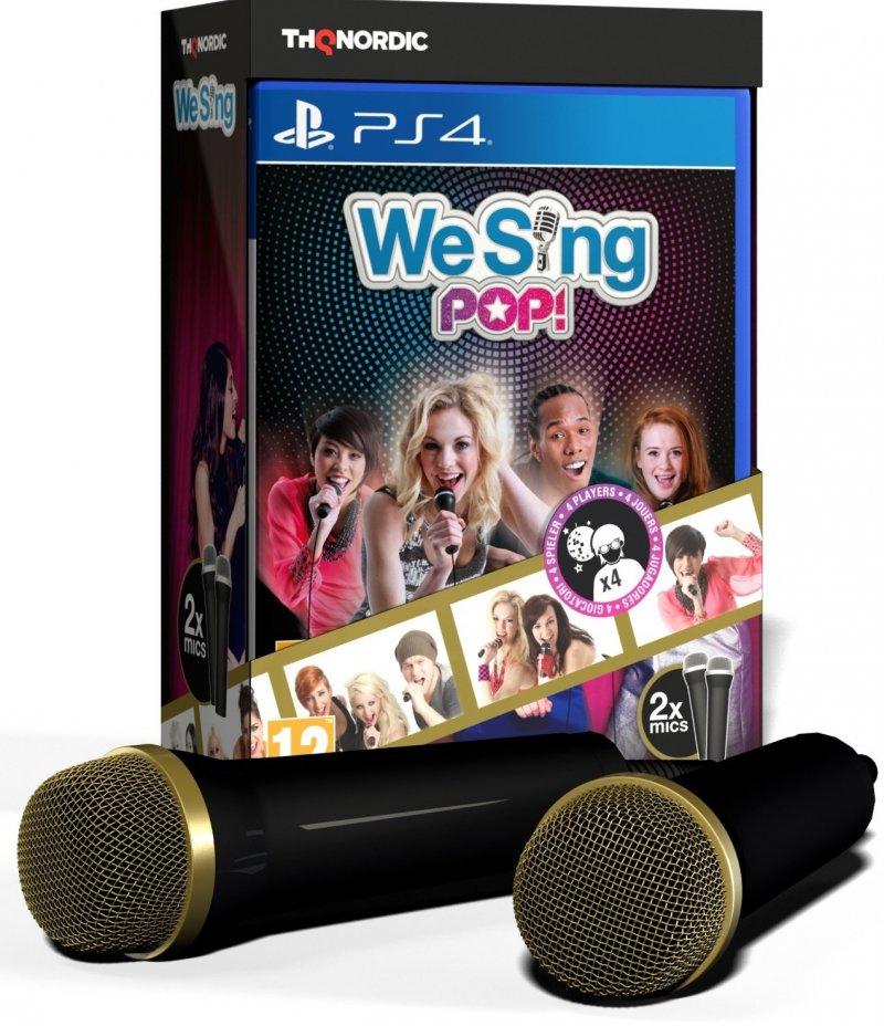Image of   We Sing Pop + 2 Mikrofoner Bundle - PS4