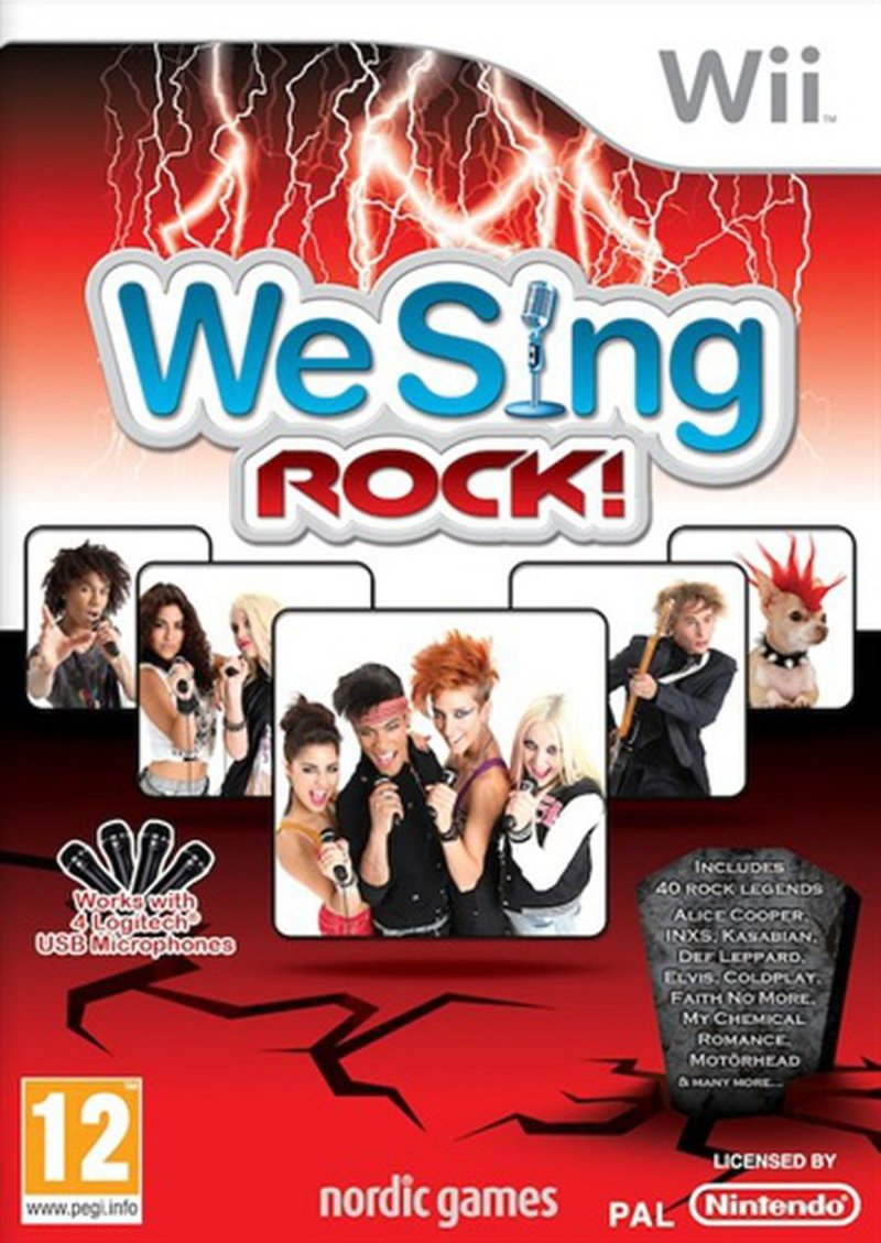 Image of   We Sing Rock - Wii