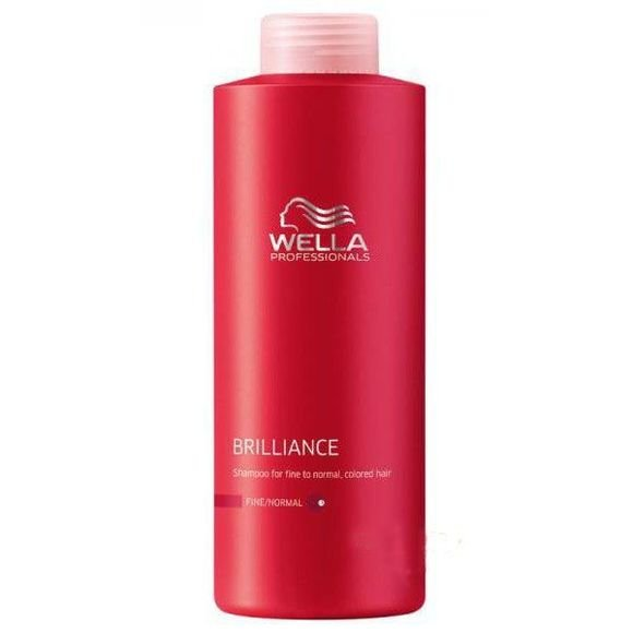 Wella Professionals Brilliance Conditioner Til Fint & Normalt Hår - 1000 Ml