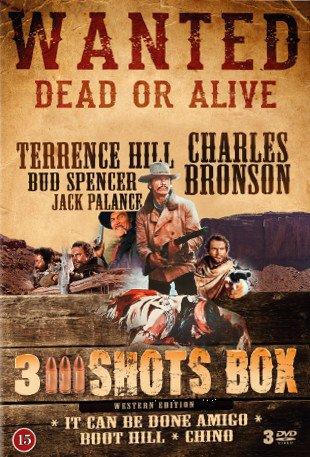 Billede af It Can Be Done Amigo // Chino // Boot Hill - DVD - Film