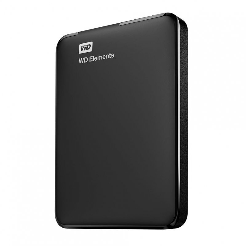 Image of   Western Digital Wd Elements Hdd - Ekstern Harddisk Usb 3.0 - 3tb Sort