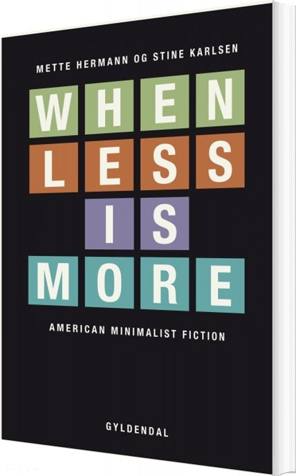 Image of   When Less Is More - Mette Hermann - Bog